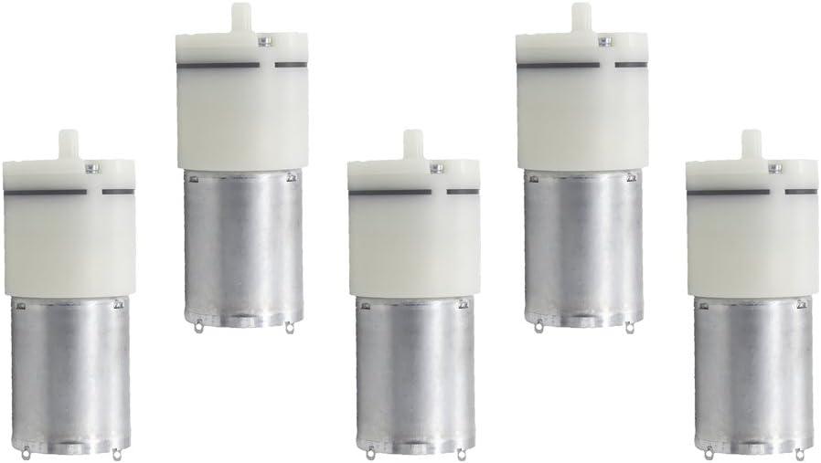 Sharplace 5 Stück Mini Luftpumpe Motor Betriebsspannungsbereich Dc 3 6v Aquarium Zubehör Baumarkt
