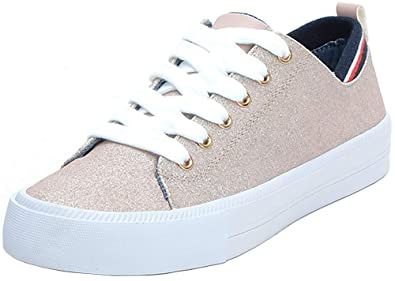 c25bc5de9dda Image Unavailable. Image not available for. Color  Tommy Hilfiger Womens Two  Sneaker ...
