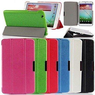 TOPKK Ultra Slim Tri Fold Leather Case Cover for LG G Pad 8.3 V500 - Pad V500 Lg G