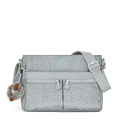 Kipling Angie Sparkly Gold Convertible Crossbody Bag
