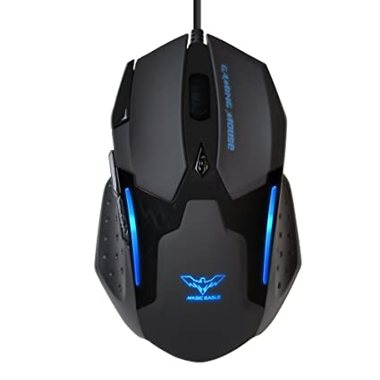 HAVITA® MMO 7 Programmable 3200 DPI Precision Optical Gaming Mouse Designed for All-day