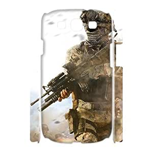 QSWHXN Call Of Duty Customized Hard 3D Case For Samsung Galaxy S3 I9300