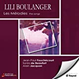 Boulanger: Les Melodies the songs