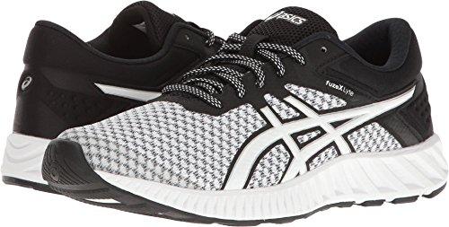 ASICS Women's fuzeX Lyte 2 Running Shoe, White/Black/Silver 5.5 M US