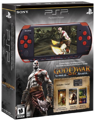 Sony PSP God of War: Ghost of Sparta PSP-3000 Entertainment Pack (The God Of War Ghost Of Sparta)