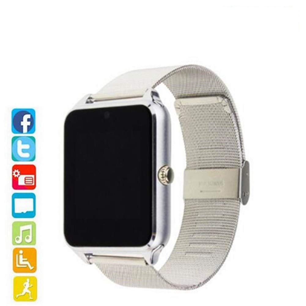 HCWF Smart Watch Plus Correa metálica Bluetooth Reloj Smartwatch ...