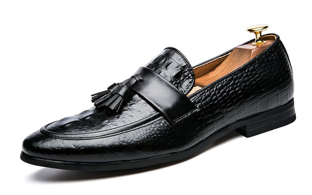 Männer wies Oxford Schuhe Herbst Quaste Nachtclub Schuhe große Größe