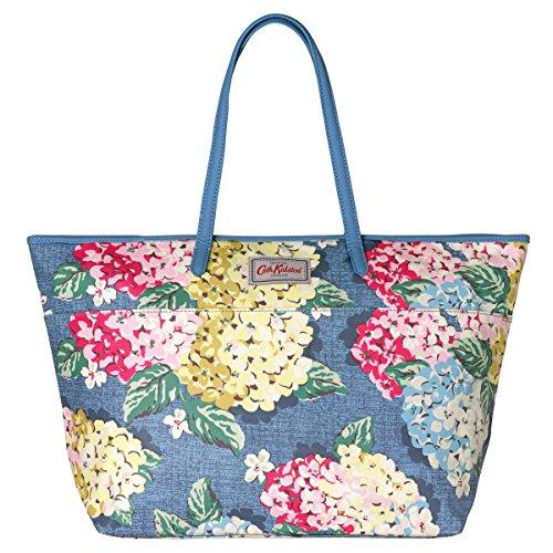 Blue Oilcloth Bag - 3