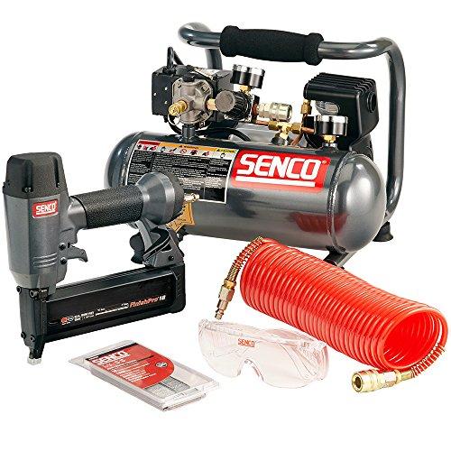 (Senco PC0947 18-Gauge Brad Nailer Compressor Combo Kit)