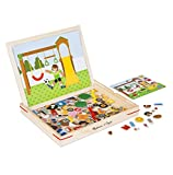 Melissa & Doug Wooden Magnetic Matching Picture