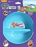 Just Solutions! Nickelodeon, Paw Patrol Girl Anti-Soggy Bowl for Cereal/Milk, Veggies/Dip, Fries/Ketchup