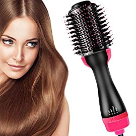 - 51DrOMSimtL - Bvser Air Hair Brush 3 in 1 Electric One Step Hair Dryer Volumizer
