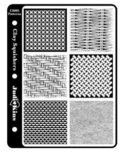 Judikins Clay Squisher Pattern Design - Judikins Diamond Glaze