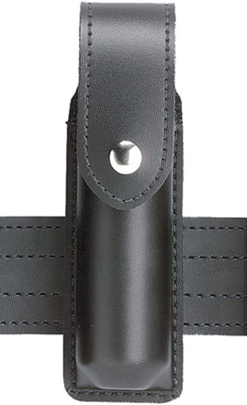 Safariland Model 38 OC Spray Holder with Top Flap, Black STX Tactical, Guardian 2-Ounce