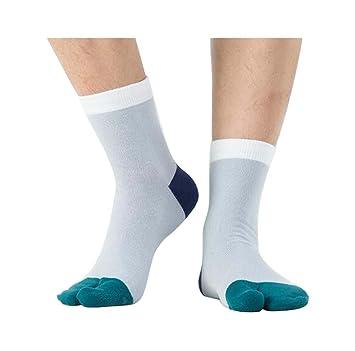 Black Temptation Calcetines Simples y Delgados de Dos Dedos Calcetines japoneses del Dedo del pie,