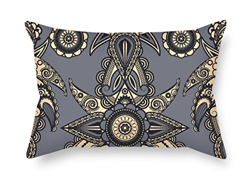 Pewter Space Dye (Elegancebeauty 20 X 30 Inches / 50 By 75 Cm Flower Throw Valentine Day Pillow Covers Two Sides Is Fit For Floor Home Theater Lover Bar Couples Bar)