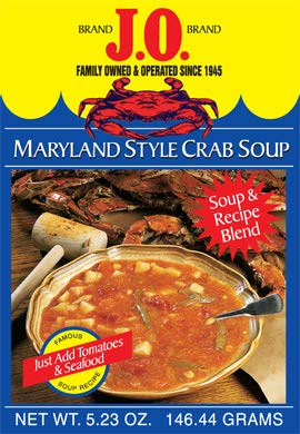 J.O. Maryland Style Crab Soup 5.23 OZ (Just add Tomatoes & Seafood)
