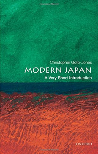 Very Short Introductions: Modern Japan