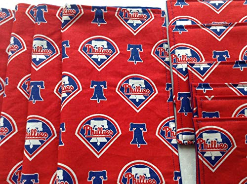 Philadelphia Phillies Picnic Set Napkins, Coasters, and Hot Pads