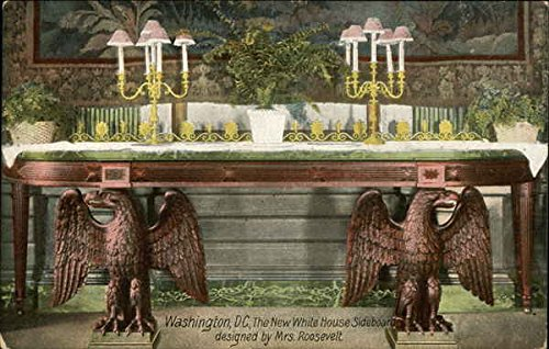 The New White House Sideboard Designed by Mrs. Roosevelt Washington, District Of Columbia Origin ...