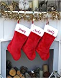 CHRISTMAS-STOCKINGS-by-STOCKINGFACTORY 18'' Personalized Christmas Stocking