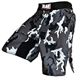 RAD MMA Fight Shorts Grappling Short Kick Boxing Cage Fighting Shorts CAMOFG New,Tough and durable.High Quality Velcro Strap System,Stretchable (Flex) Panels for Greater Mobility. (2XL)