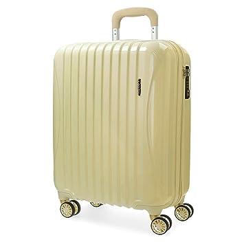 MOVOM Trafalgar Equipaje de mano, 55 cm, 37 litros, Amarillo: Amazon.es: Equipaje