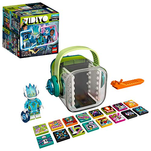 LEGO VIDIYO Alien DJ Beatbox 43104 Building Kit with Minifigure; Creative Kids Will Love Producing Music Videos Full of Songs, Dance Moves and Special Effects, New 2021 (73 Pieces)
