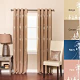 Best Home Fashion Thermal Insulated Blackout Curtains 84s - Best Home Fashion Shimmering Chandelier Foil Printed Thermal Review