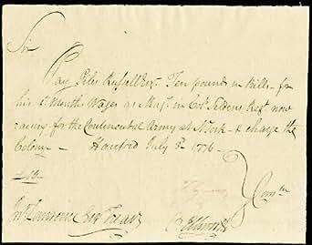 Amazon.com: Chief Justice Oliver Ellsworth - Autograph ...