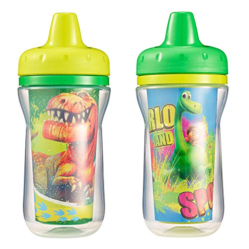 - The First Years The Good Dinosaur Insulated Sippy Cup, 9 Ounce (Color and design may vary)