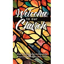 """""""Welcome to our Church"""" - Hermitage Art Welcome Pew Cards - Attendance - All Ages - (Pkg. of 25) ..."""