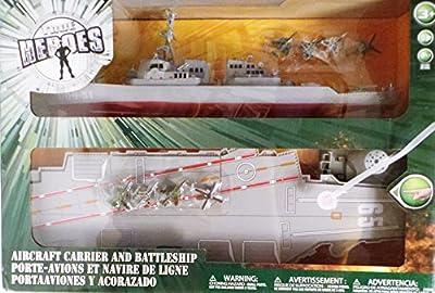 True Heroes Aircraft Carrier and Battleship