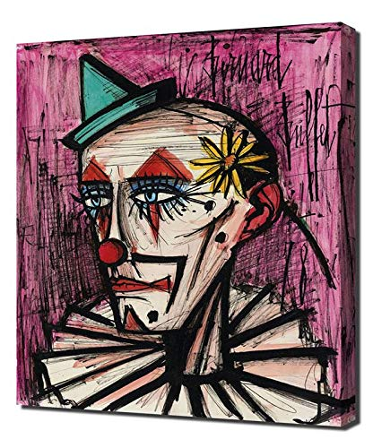 Admirable Amazon Com Pingoo Prints Bernard Buffet Clown A La Interior Design Ideas Apansoteloinfo