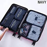 TorDen 7 Set Packing Cubes with Shoe Bag Compression Travel Luggage Organizer Perfect Travel Accessories (9)