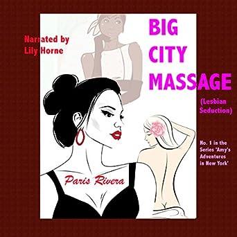 Lesbian gives massage