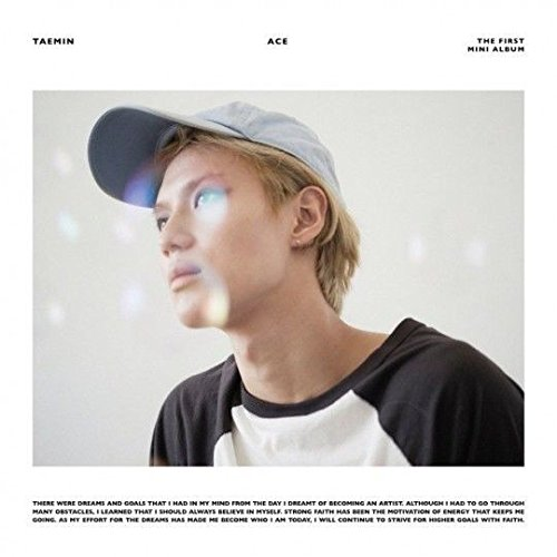 SHINEE TAEMIN [ACE] 1st Mini Album CD+80p Photobook+Photocard+Tracking Number K-POP SEALED