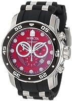 Invicta Men's 6979 Pro Diver Collection Chronograph Black Polyurethane Watch from Invicta