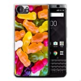 STUFF4 Gel TPU Phone Case / Cover for Blackberry KeyOne/BBB100 / Jelly Babies Design / Confectionery Collection