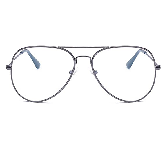 8dd66c3db93 RazMaz UV400 Aviator White Girl s Eyeglasses  Amazon.in  Clothing ...