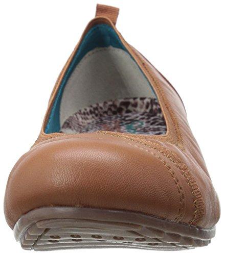 Skechers Rome Slip-on Loafer Tan Leer Voor Dames
