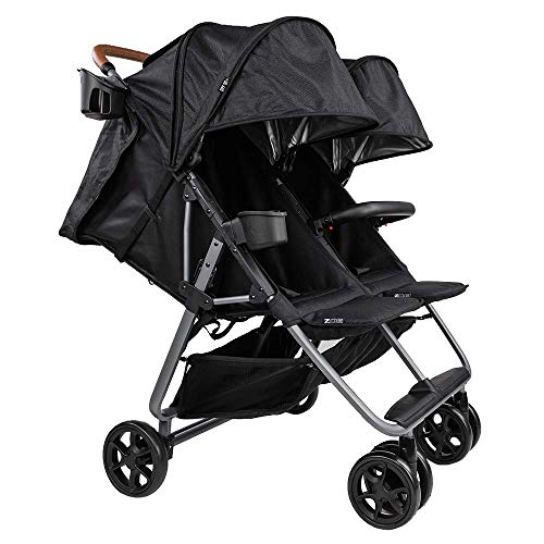Buy Twin+ Luxe (Zoe XL2) - Everyday Twin Stroller - Luxury Double Umbrella Stroller