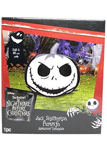 Jack Skellington Pumpkin Airblown Inflatable (Sale Decorations Christmas Lawn)