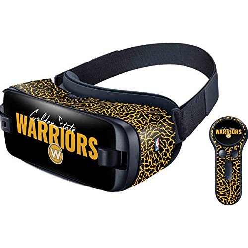 NBA Golden State Warriors Gear VR with Controller (2017) Skin - Golden State Warriors Elephant Print Vinyl Decal Skin For Your Gear VR with Controller (2017) by Skinit
