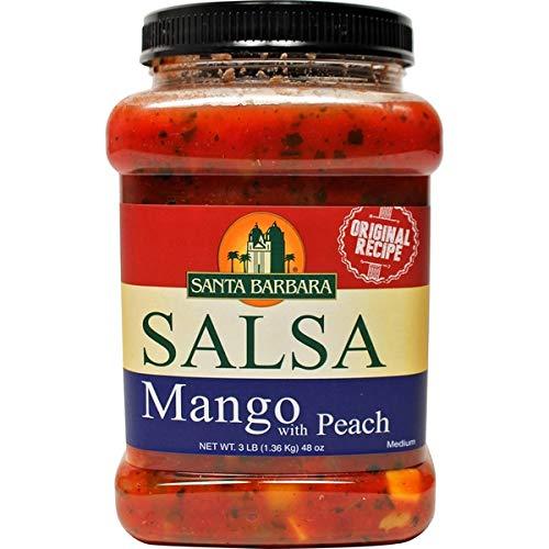 Santa Barbara Expect More Mango Peach Salsa