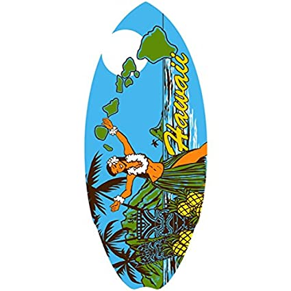 Vintage de chica Hula Mini tabla de surf 20 &quot ...