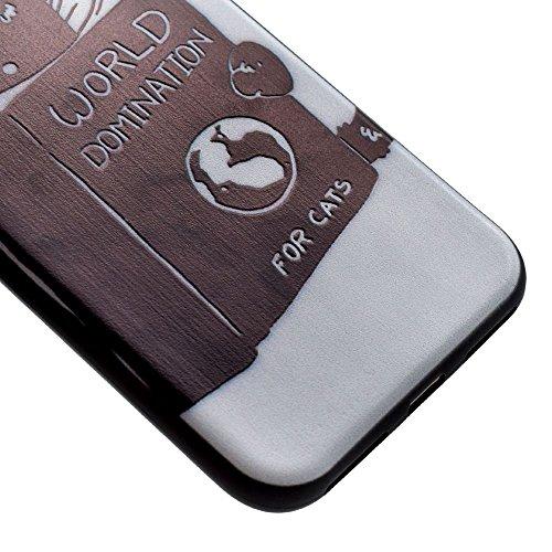 "HYAIT® For IPHONE 7 PLUS 5.5"" [XXG BLACK V1]Scratch-Proof Ultra Thin Rubber Gel TPU Soft Silicone Bumper Case Cover -BKI07"