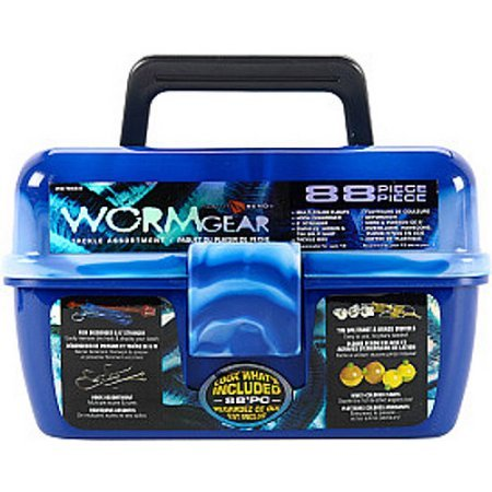 South Bend Worm Gear Tackle Box  Blue