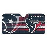 NFL Houston Texans Universal Auto Shade, Large, Black