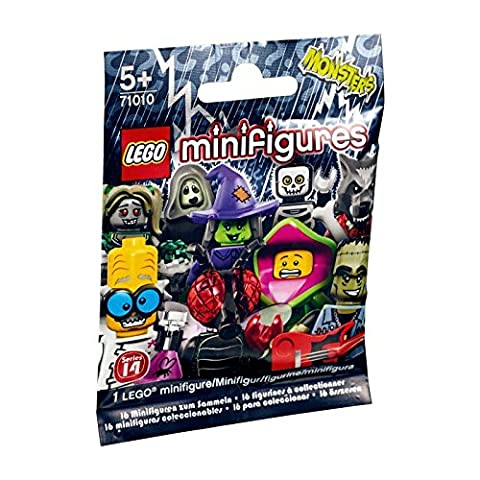 LEGO 71010 Series 14 Monster Minifigure, Random Pack (Lego Mona Lisa)